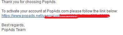 Cara Daftar Dan Pasang Iklan CPM Popads.net Di Blog